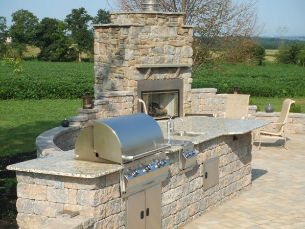 Outdoor Kitchen Installation Outdoor Kitchen design  Custom Outdoor kitchens  Fire Magic Gas Grills
